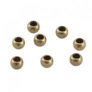 Chafas metálicas DQ 3mm bronce viejo (sin níquel)