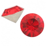 Swarovski Elements formas diversas SS45 chatón (10mm) Light siam red