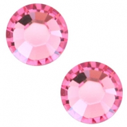 Swarovski Elements SS30 base plana (6.4mm) Rose