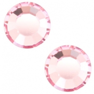 Swarovski Elements SS30 base plana (6.4mm) Light rose