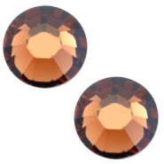 Swarovski Elements SS20 base plana (4.7mm) Smoked topaz