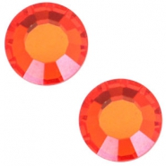 Swarovski Elements SS20 base plana (4.7mm) Hyacinth orange